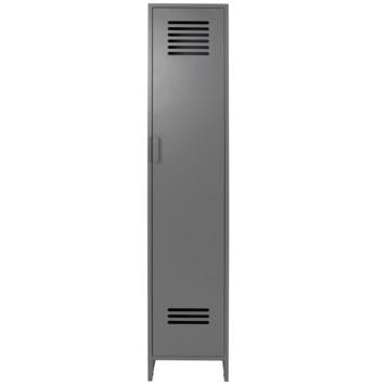 Lockerkast Jason 1-deurs metaal grijs