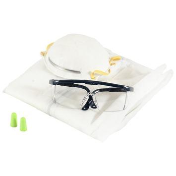 GAMMA veiligheidsset bril-masker-oordoppen-overall