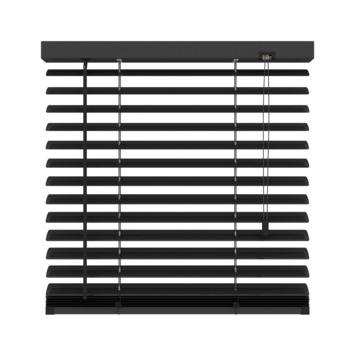 GAMMA horizontale jaloezie aluminium 50 mm 320 mat zwart 80X180