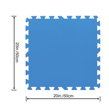 Bestway ondertegels voor zwembad 50x50 cm 9 stuks