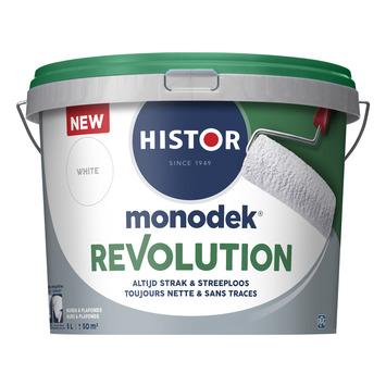 Histor Monodek Revolution wit 5 liter
