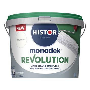 Histor Monodek Revolution RAL 9010 gebroken wit 5 liter
