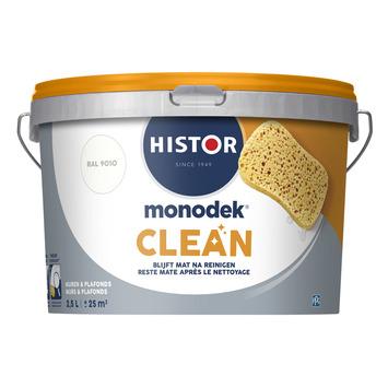 Histor Monodek Clean RAL 9010 gebroken wit 2,5 liter