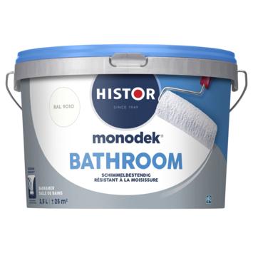 Histor Monodek Bathroom RAL 9010 gebroken wit 2,5 liter