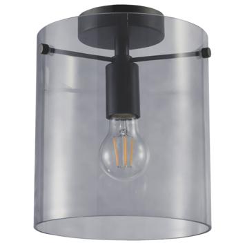 Plafondlamp Hugo E27 zwart