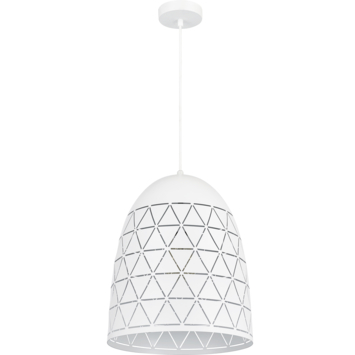 Hanglamp Evy E27 wit