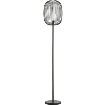 Vloerlamp Nikki E27 zwart