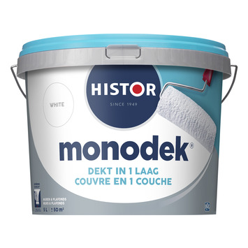 Histor Monodek latex wit 5 liter