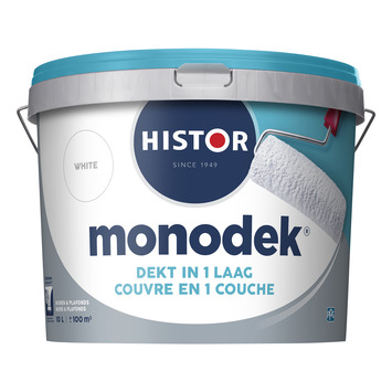 Histor Monodek latex wit 10 liter