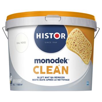 Histor Monodek Clean RAL 9010 zonlicht 10 liter