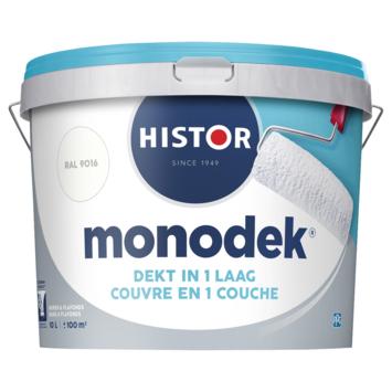 Histor Monodek latex RAL 9016 verkeerswit 10 liter