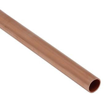 Buis Roodkoper Ø 15 mm x 1 Meter
