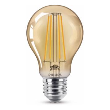 Philips LED peer E27 48W filament goud niet dimbaar