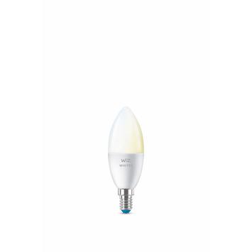 WiZ Connected LED kaars E14 40W mat koel tot warmwit licht dimbaar