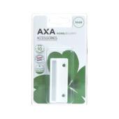 AXA sluitplaat vlak wit gelakt
