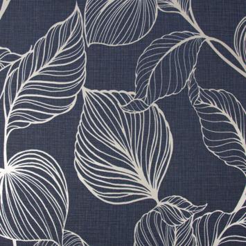Vliesbehang Royal Palm donkerblauw (111302)