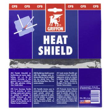 Griffon heat shield 250x190 mm