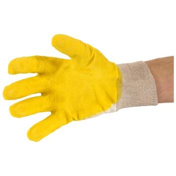 GAMMA bouwwerkhandschoen waterdicht geel