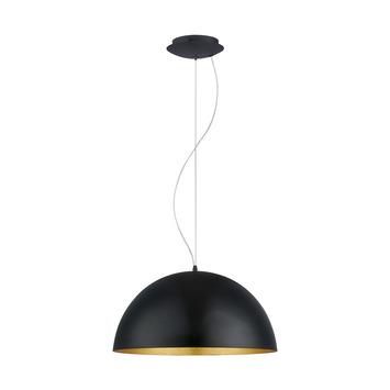 Eglo Gaetano 1 hanglamp zwart/goud