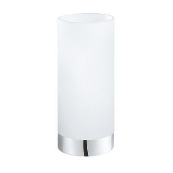 EGLO tafellamp Damasco chroom/glas