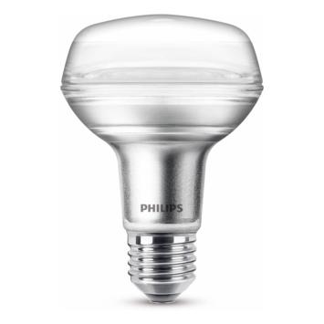 Philips LED reflector E27 60W niet dimbaar