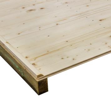 Vloer voor Tuinhuis Edelweiss 180x180 cm