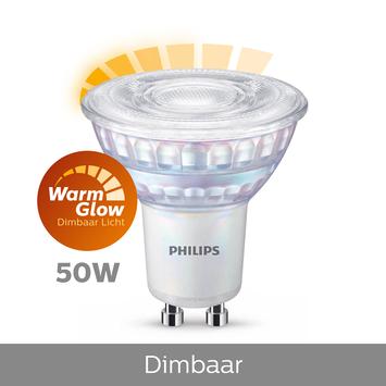Philips LED spot GU10 50W warmglow dimbaar