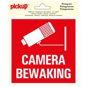 Pickup Pictogram Vinyl 15x15cm Camerabewaking