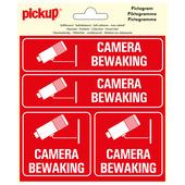 Pickup Pictogram Vinyl 15x15cm 4 op 1 Camerabewaking