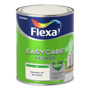 Flexa EasyCare muurverf keuken gebroken wit mat 1 liter