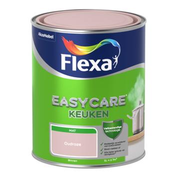 Flexa EasyCare muurverf keuken oudroze mat 1 liter