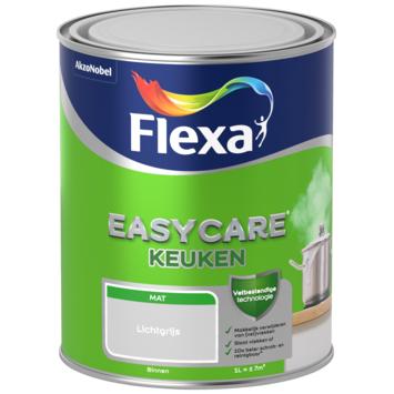 Flexa EasyCare muurverf keuken lichtgrijs mat 1 liter
