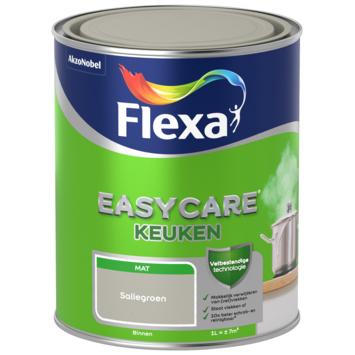 Flexa EasyCare muurverf keuken saliegroen mat 1 liter
