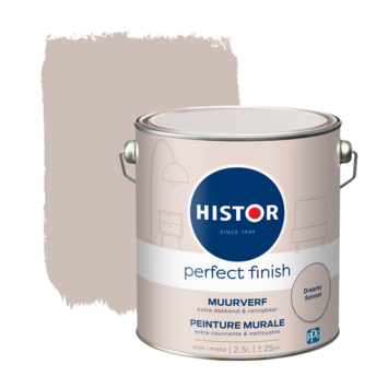 Histor Perfect Finish muurverf mat Dreamy Sonnet 2,5 liter
