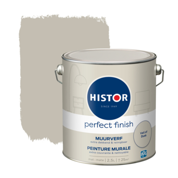 Histor Perfect Finish muurverf mat Veil of Dusk 2,5 liter