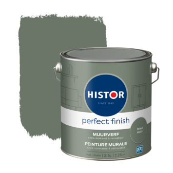 Histor Perfect Finish muurverf mat Dried Holly 2,5 liter