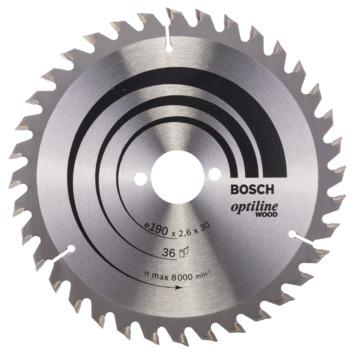 Bosch zaag 190x36