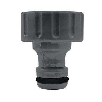 GAMMA sproeiaccessoires kraanstuk kunststof 3/4 inch grijs