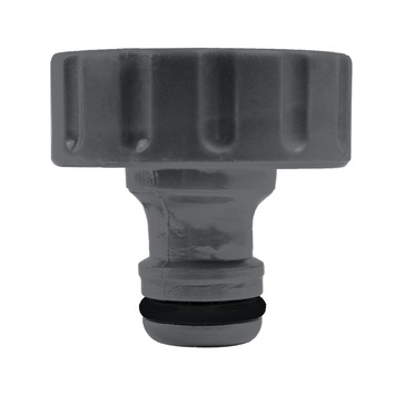 GAMMA sproeiaccessoires kraanstuk kunststof 1 inch grijs