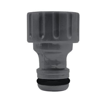 GAMMA sproeiaccessoires kraanstuk kunststof 1/2 inch grijs