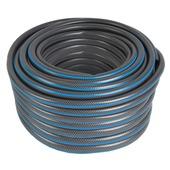GAMMA tuinslang gewapend grijs met blauw 50 meter 1/2 inch