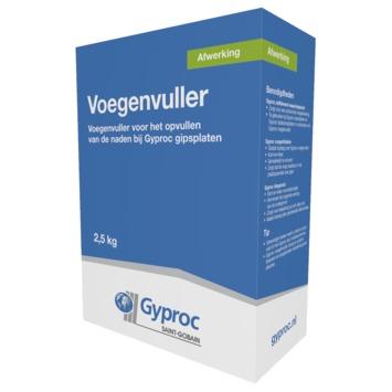 Gyproc gipsplaatvuller wit 2,5 kg