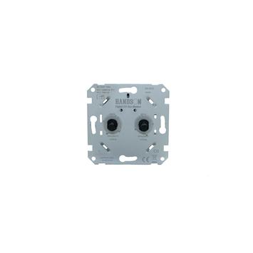 GAMMA inbouw duodimmer LED/SPAAR universeel