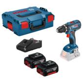 Bosch Professional accuschroefmachine GSR 18V-28 incl 2 accu's 3.0Ah