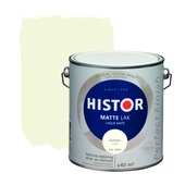 Histor Perfect Finish lak katoen RAL 9001 mat 2,5 liter