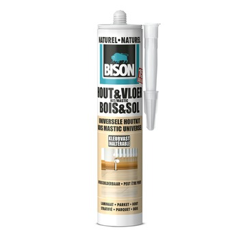 Bison Hout & Vloer kit naturel 310 ml