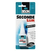 Bison Industrie secondelijm 20 gram
