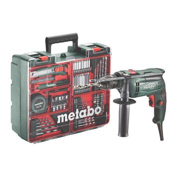 Metabo klopboormachine SBE 650 + 78-delige accessoireset
