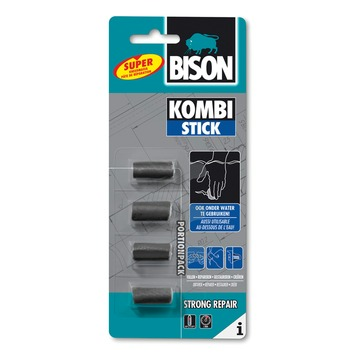 Bison 2-componentenlijm kombi stick 20 gram 4 x 5 gram