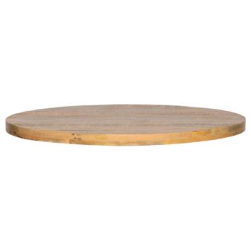 Tablo tafelblad mangohout Ø120cm